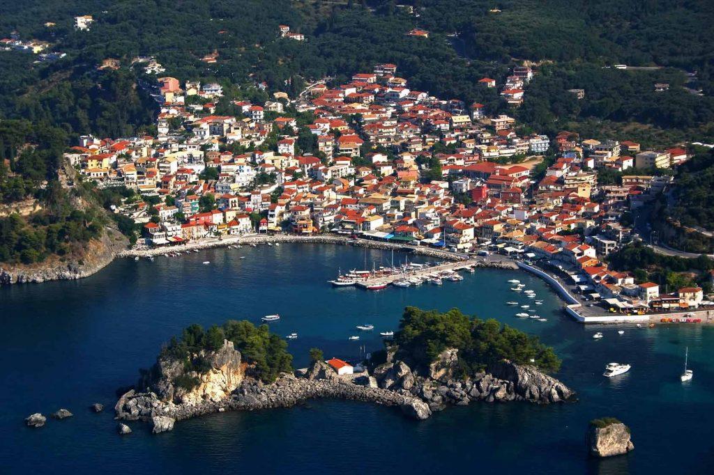 Plaje frumoase de vizitat in Parga, oraselul pitoresc din Epirus